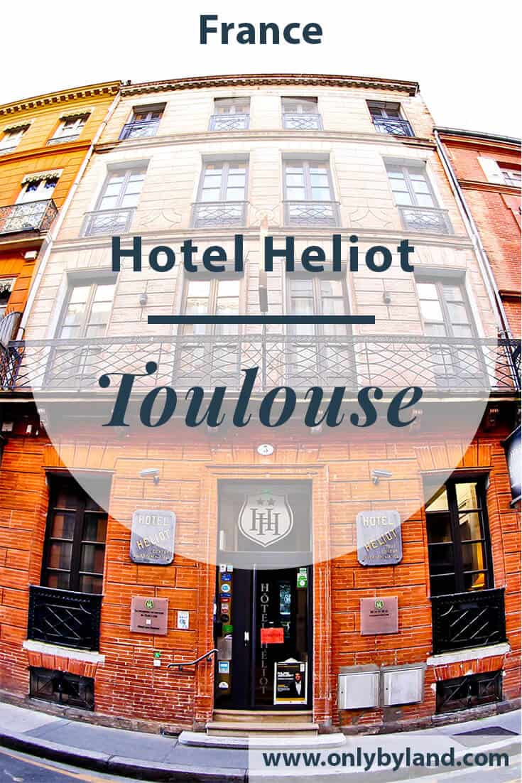 Hotel Heliot Toulouse, Travel Blogger Review