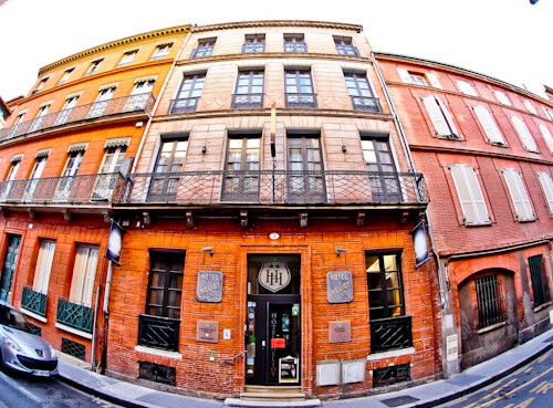 Hotel Heliot Toulouse, location