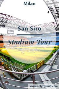 A stadium tour of the San Siro in Milan. Home stadium of Inter Milan and AC Milan.