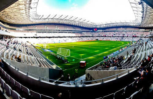 OGC Nice - matchday experience - Allianz Riviera stadium - pre match