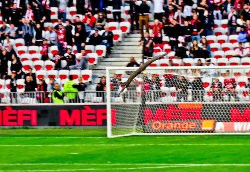 OGC Nice - matchday experience - Allianz Riviera stadium - eagle