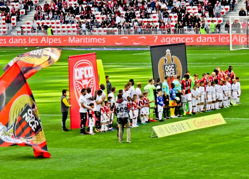 OGC Nice - matchday experience - Allianz Riviera stadium - teams