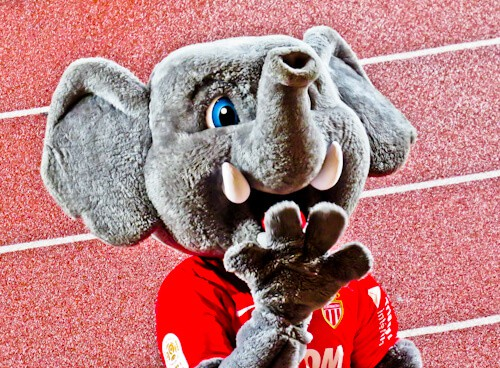 AS Monaco FC - matchday experience - Stade Louis II - Mascot