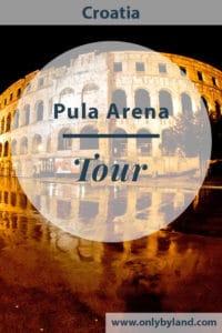 A tour of Pula Arena, Croatia. It's one of the best persevered Roman Amphitheaters in the world. I share my guided tour experience which has access to the Pula Arena underground.