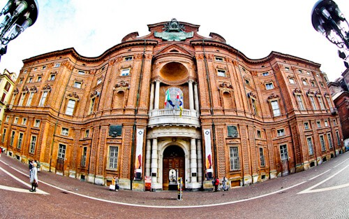 Palazzo Carignano, Residence of the Royal house of Savoy, Turin