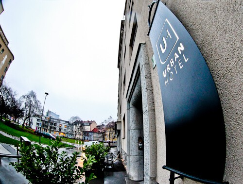 Urban Hotel Ljubljana - location