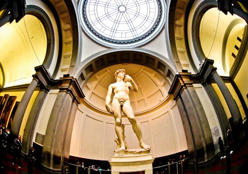 David by Michelangelo, Galleria dell'Accademia, Florence