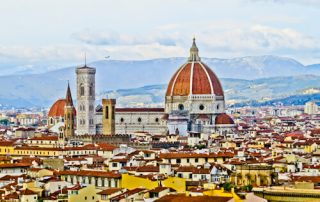 Piazzale Michelangelo and view of the city, Florence