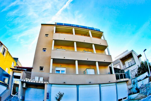 Guesthouse Vujevic, Split, Croatia, Location