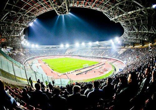 Napoli match day experience - Stadio Sao Paolo - Naples - stadium