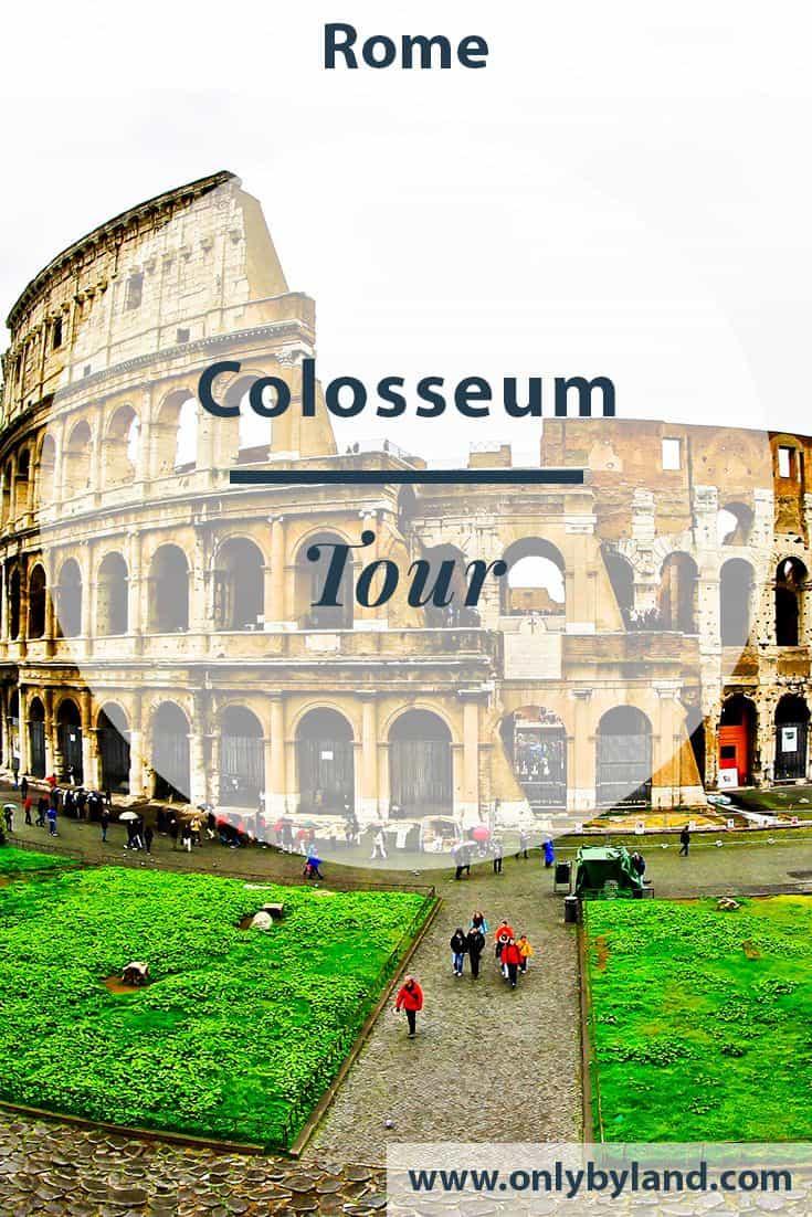 Colosseum, Flavian Amphitheater, Rome