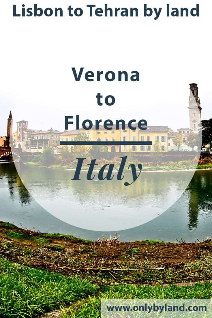 Verona to Florence by bus