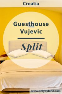 Where to stay in Split, Croatia? Guesthouse Vujevic is located a short walk from the Diocletian's Palace and the Historical Nucleus of Split UNESCO site. It's also a short walk from the Hadjuk Split football stadium and huge shopping mall.