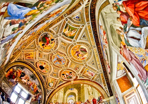 Vatican City Museums, Raphael Rooms,
