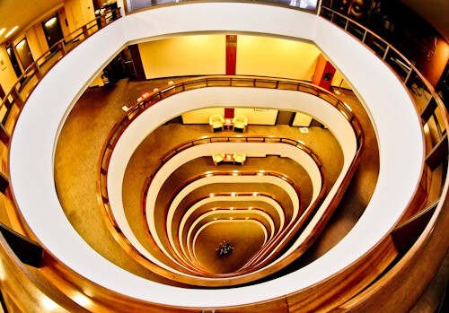 Grand Hotel Union Ljubljana, Slovenia - staircase