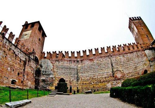 Castelvecchio medieval castle museum, Verona UNESCO city