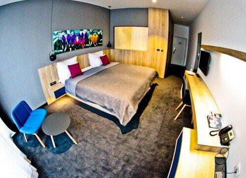 Hotel Academia Zagreb, Croatia - guest room