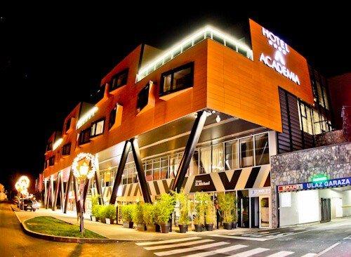 Hotel Academia Zagreb, Croatia - location