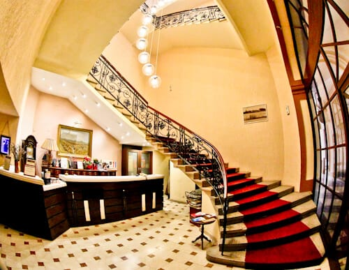 Hotel Central Osijek, Croatia - check in
