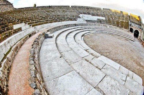 Roman Theater, Ancient Pompeii