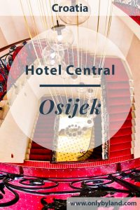 Where to stay in Osijek, Croatia. Hotel Central is a hotel located in the central square and is the oldest, most historic hotel in the city. You can walk to all points of interest of Osijek from this location.