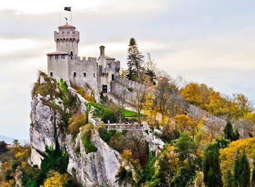 Guaita, the second tower of San Marino