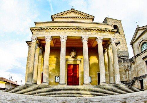 Basilica di San Marino catholic church