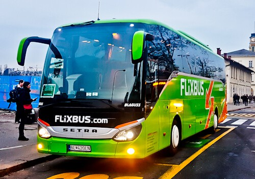 bus from Venice to Ljubljana, Slovenia, Flixbus