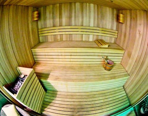 Belgrade Inn, Serbia - Travel Blogger Review, Sauna