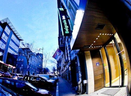 Belgrade Inn, Serbia - Travel Blogger Review, location