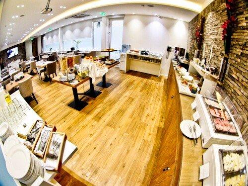 Belgrade Inn, Serbia - Travel Blogger Review, breakfast buffet