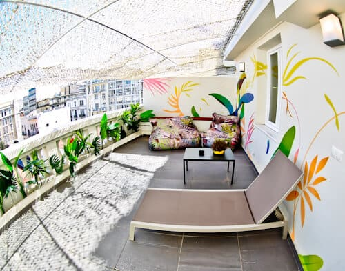 Colors Urban Hotel Thessaloniki Greece - travel blogger review - Balcony room with sea view or city view