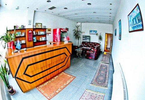 Hotel Denis Prishtina Kosovo, Travel Blogger Review - check in