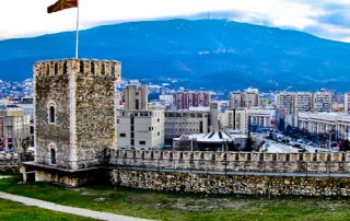 Hotel Elsa Skopje, Macedonia, Travel Blogger Review - Location near Fortress