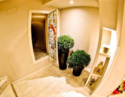 Hotel Amfiteatri Boutique Hotel Durres, Albania - escape tunnel / underground bunker