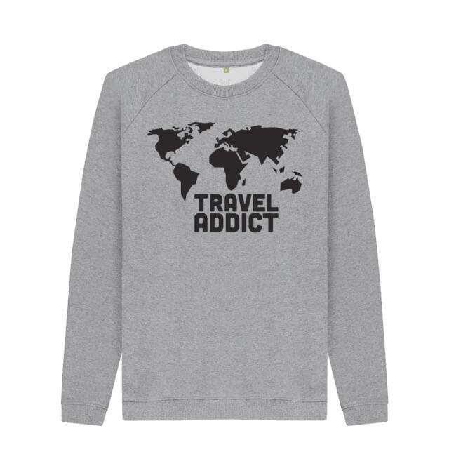 Travel Addict Sweater