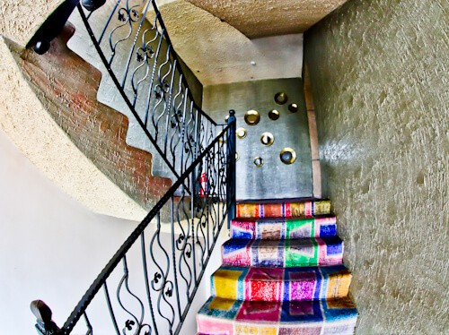 Patron Boutique Hotel - Antalya Turkey Hotels - staircase
