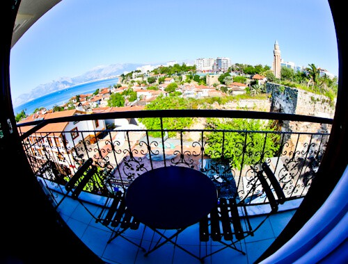 Patron Boutique Hotel - Antalya Turkey Hotels - balcony view