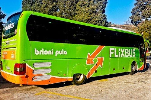 Portoroz to Pula by Flixbus