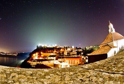 Piran town walls