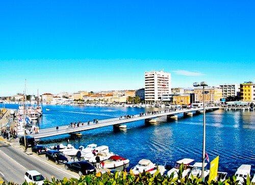 Zadar Croatia New Town