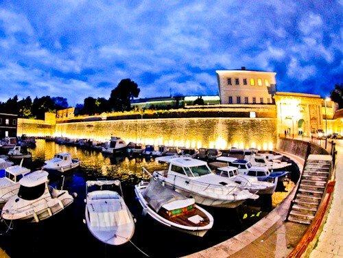 Land Gate and City Walls, Zadar Croatia