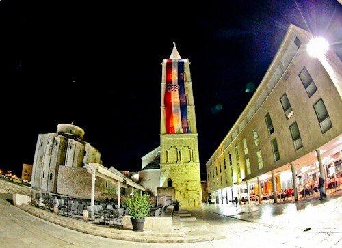 Zadar Croatia - Zadar Cathedral Bell Tower
