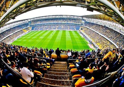 Fenerbahce - matchday experience - Sukru Saracoglu Stadium - Istanbul - stadium panoramic