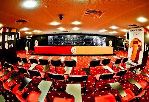 Galatasaray - Stadium Tour - Turk Telekom Stadium - media / press room