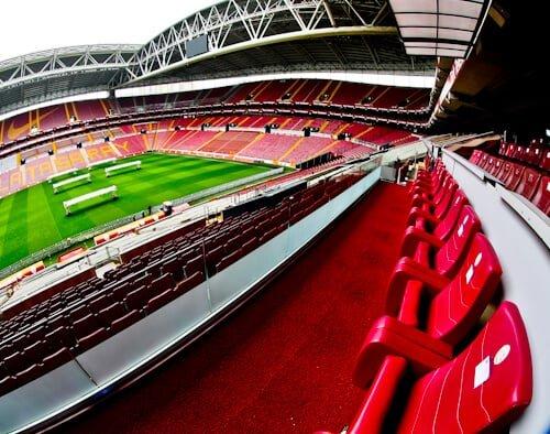 Galatasaray - Stadium Tour - Turk Telekom Stadium - VIP seats and presidential suite