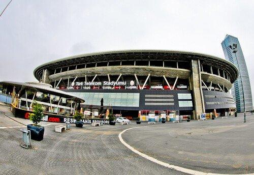 Galatasaray - Stadium Tour - Turk Telekom Stadium - location