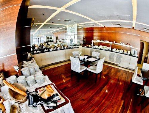 Ankara Hotel - Niza Park Hotel - complimentary breakfast buffet