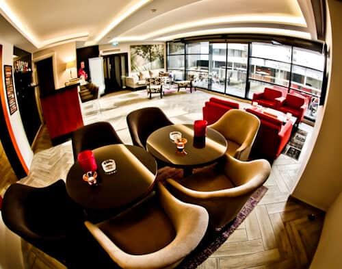 Izmir Hotel - Smart Hotel - Fifth floor terrace