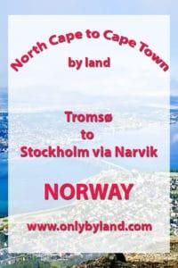 Tromsø to Stockholm via Narvik